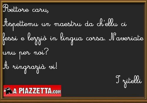lingua corsa, insignamentu, enseignement bilingue, langue corse, école, primaire, coucours spécifique,