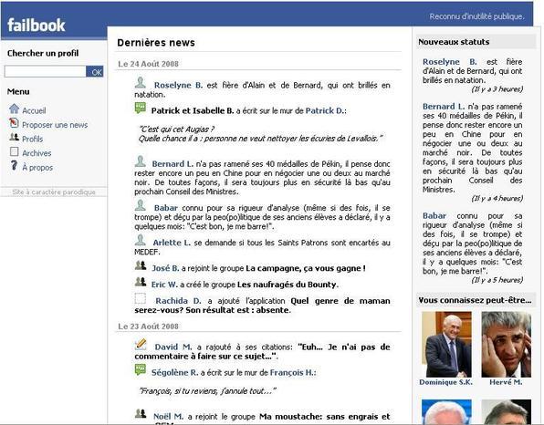 Dopu Facebook è Failbook, a CTC crea u Corsicanbook...