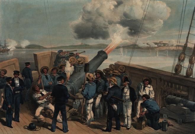 Bumbardamentu di Bomarsund, 1854