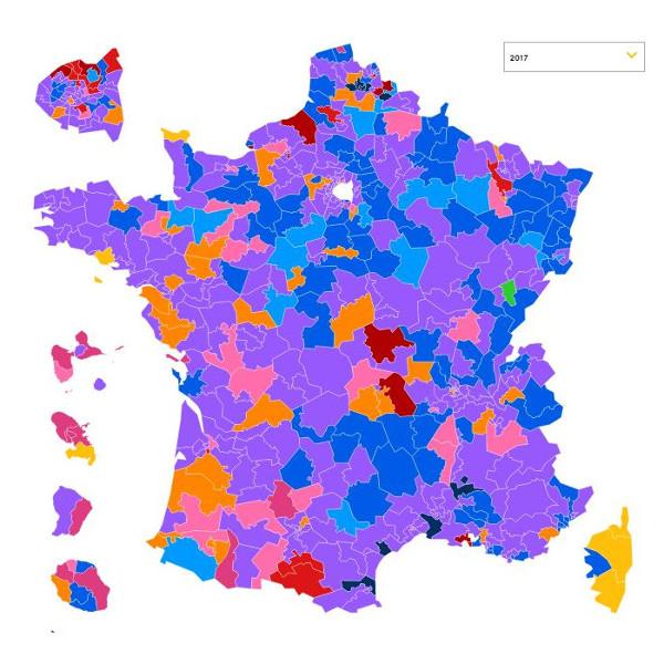 Cum'è spessu, a Corsica ùn vota micca cum'è l'altri