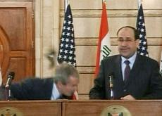 Attentatu à a ciavatta contr'à George Bush