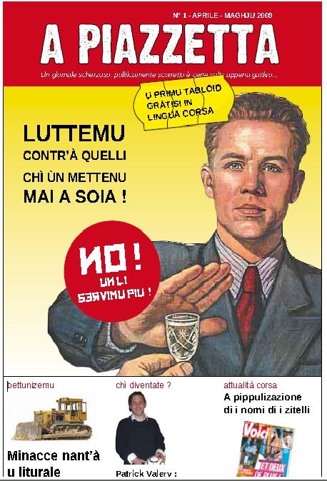 Hè esciutu u nùmeru 1 di u giurnale A Piazzetta !