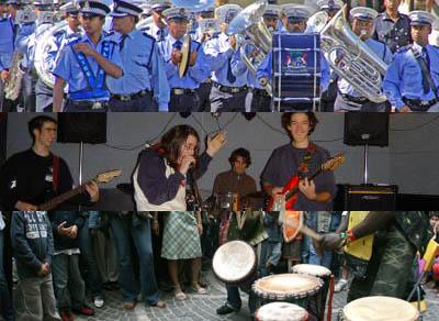 A festa di a musica o a cumedia di u tazzu ?