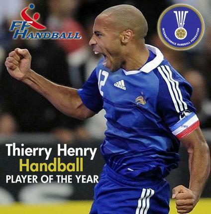 Thierry Henry, closcia internaziunale