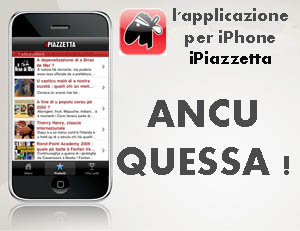 Site più di 19.000 à avè l'applicazione iPiazzetta !