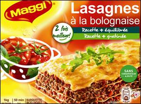 A maledizzione di e lasagne