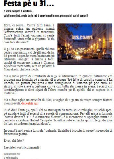 A Piazzetta hà dece anni !