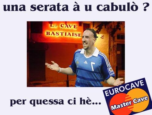 Affare Ribery : era u più goffu chì andava à u caboulot