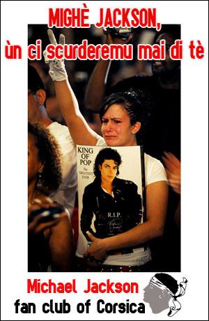 San Michael Jackson festighjatu in Corsica ?
