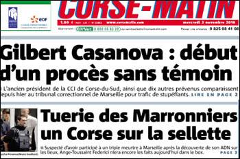 Più forte ch'è Mafiosa è Un prophète, Corse-Matin