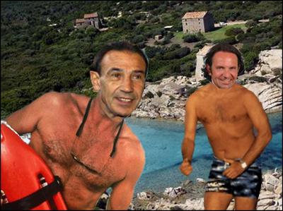 A beach party di u duminiu di Murtoli