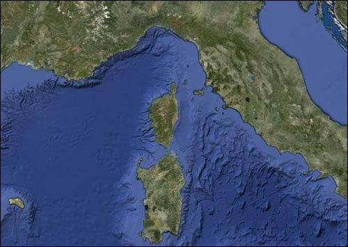 A Corsica s'avvicina da a Francia