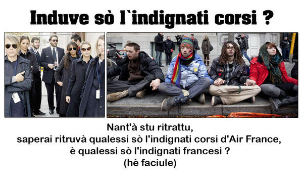 Indignati, ma in Ray-Ban