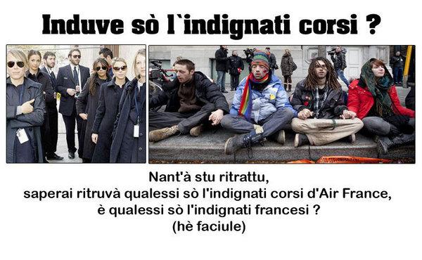 Indignati, ma in Ray-Ban