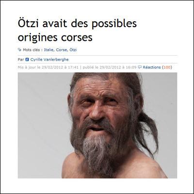 Ötzi, u ziu di a patria