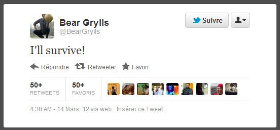 Bear Grylls ùn purterà più veste Millet