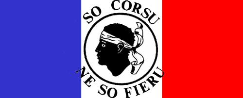 A Corsica hè bleu-blanc-rouge