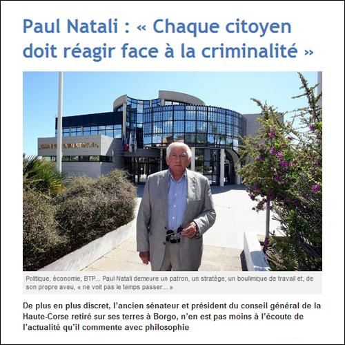 Appena di filosoffia cun Paul Natali