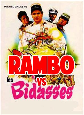 Rambo contr'à Les Bidasses