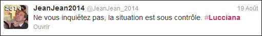 #Lucciana : a prima tweet-magagna corsa