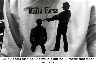 T-shirt in vendita nant'à eBay. Difficiule di fà peghju...