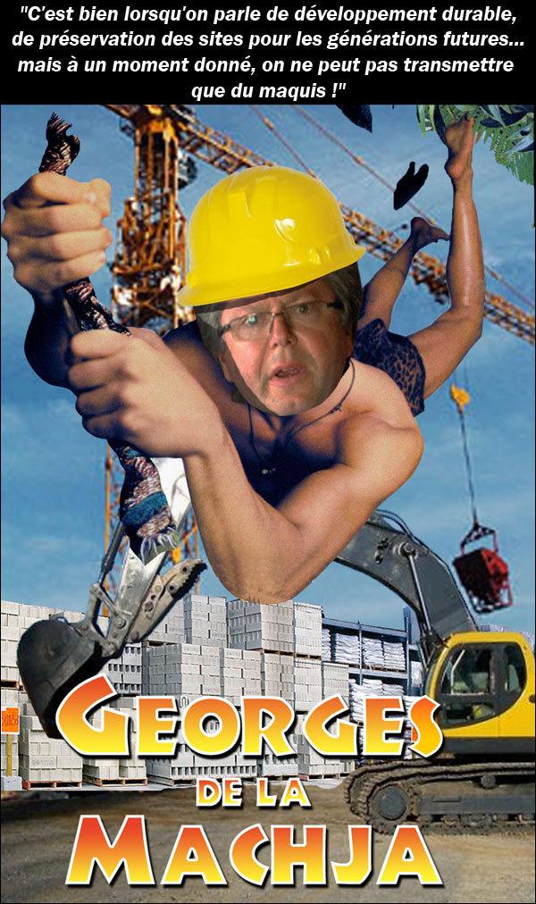 Georges de la machja