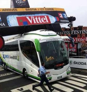 U nostru podium di u giru di Francia