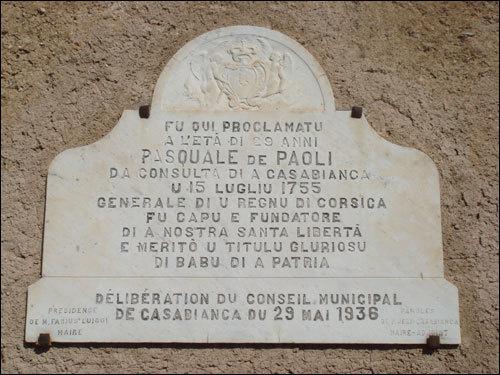 Lugliu 1755, un certu Pasquale Paoli...