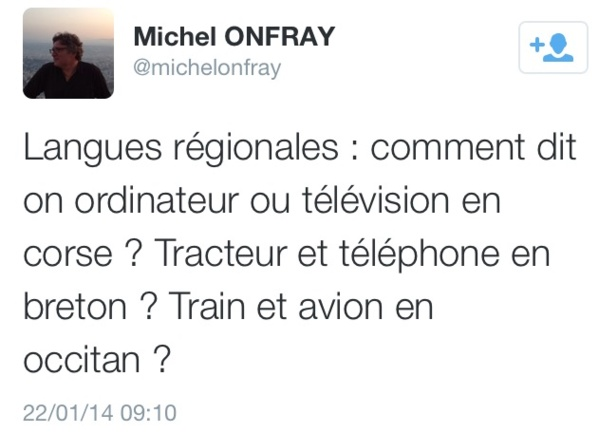 Onfray mieux d'se taire