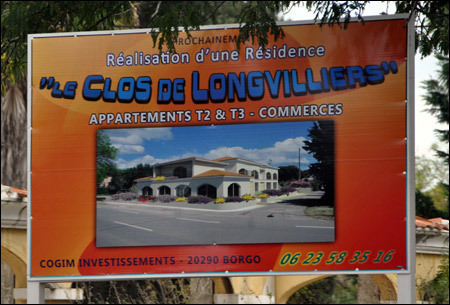 """Le Clos de Longvilliers"". In u Pas-de-Calais ? Nò, in Muriani..."