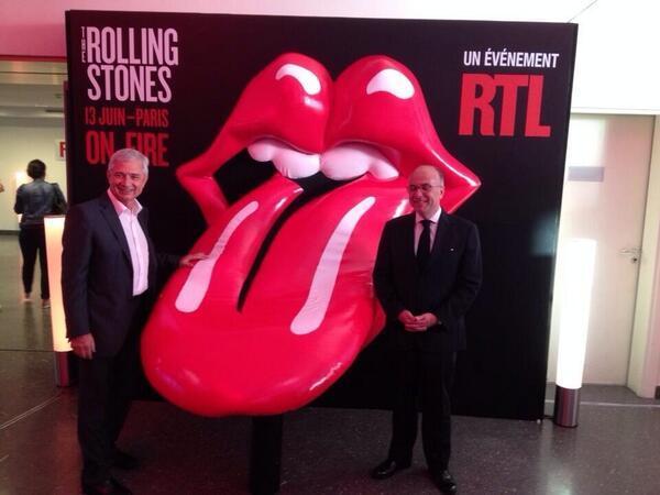 Cazeneuve : megliu i Rolling Stones ch'è a Corsica