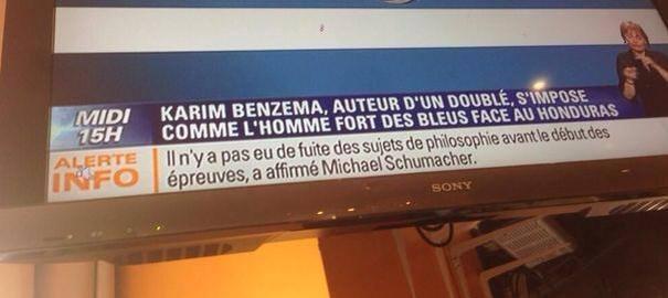 À BFM TV, stanu megliu