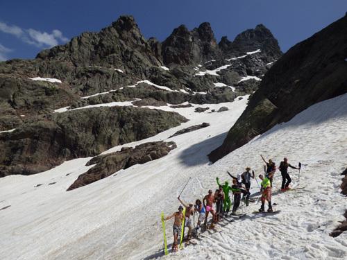 Di ghjugnu in Corsica, si face sempre u ski
