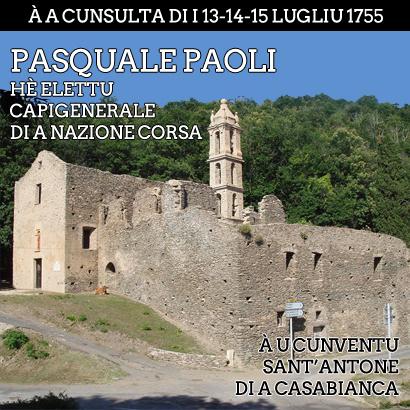 14 lugliu 1755, stu diavule di Pasquale Paoli...