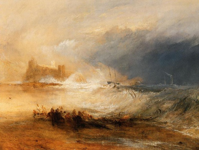 Wreckers Coast of Northumberland, 1836. Yale Center for British Art