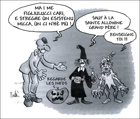 Sant'Andria o Halloween ? U resucontu di u macciu