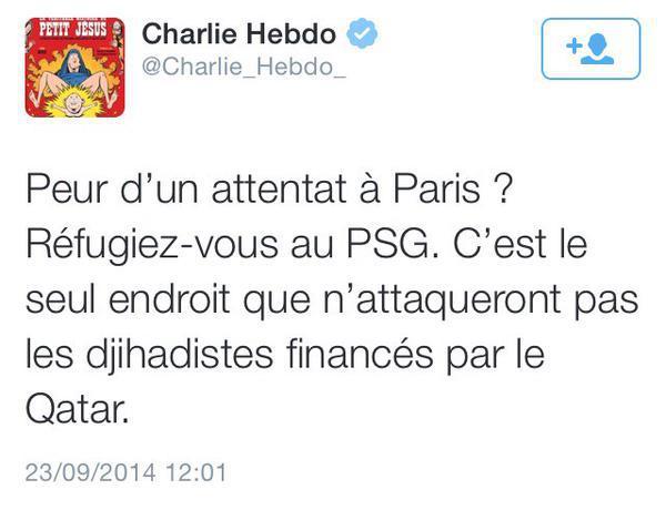 Qatar : ciò chì Charlie Hebdo dicia...