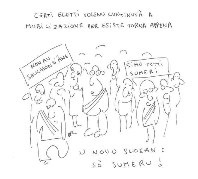 U dissegnu di Paulu Felice