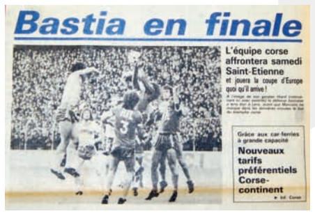 E mezefinale di Bastia
