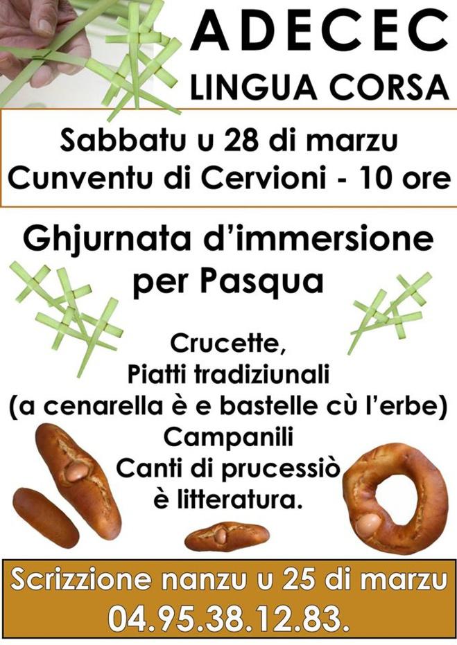Ghjurnata in immersione per Pasqua in Cervioni