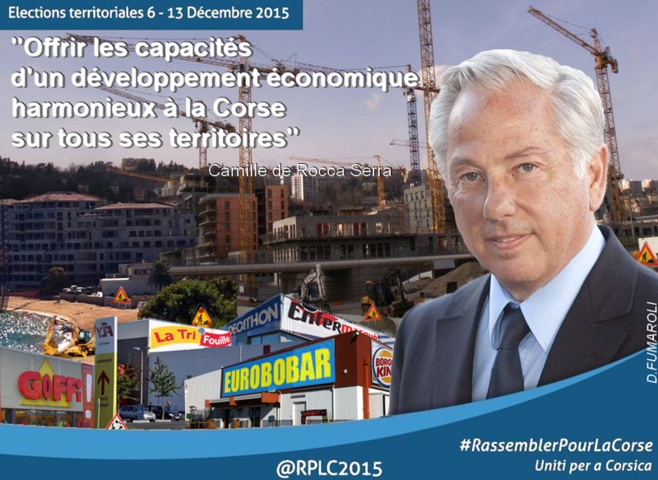 """U """"développement économique harmonieux"""" d'appressu à Camillou"""