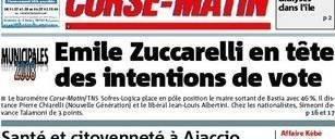 Sundame municipali di Bastia : Zuccarelli à 46%, Simeoni à 10, Talamoni à 7
