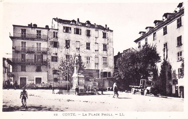 """In """"Histoire de Corte et des Cortenais"""" di Jean Suberbielle"""