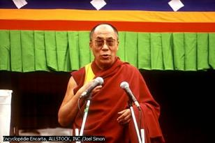 U Dalai Lama in Corsica !