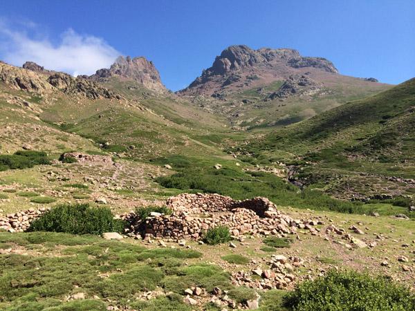 A valle di Tula, sott'à u Paglia Orba è u Tafunatu