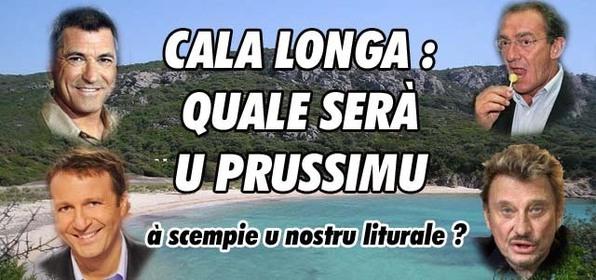 Quale serà u prussimu pippulacciu à custruisce in Cala Longa ? Vutate !