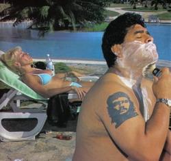 Maradona in San Fiurenzu ?