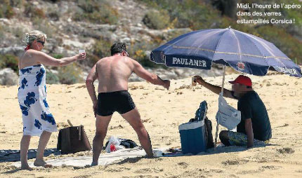 Marine Le Pen lampata fora da un risturante in San Fiurenzu ?