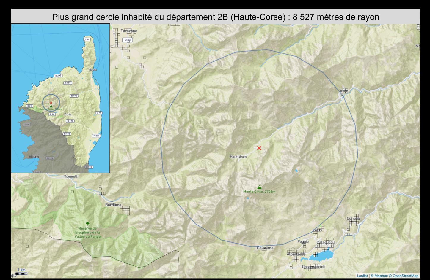 A Corsica, segonda à u campiunatu di Francia di i lochi persi
