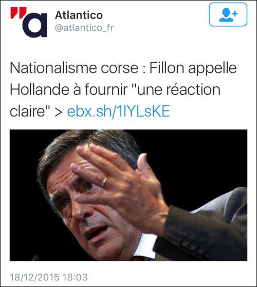 Site prevenuti, à Fillon li piace pocu a lingua corsa